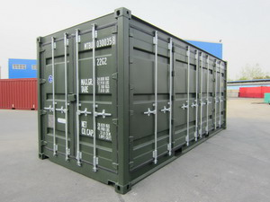 20 ft Full side opening Containers