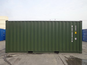 20 ft standard shipping containers