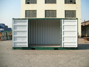 Full side access shipping containers