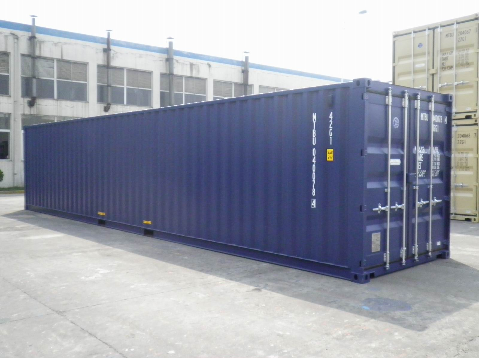40 Ft Standard Containers Shipping Container Adverts